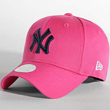 New Era - Casquette Femme 9Forty League Essential New York Yankees Rose