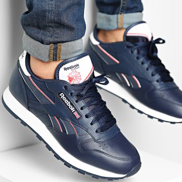 Reebok - Baskets Classic Leather H69220 Vector Navy Cloud White Vector Red
