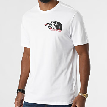 The North Face - Tee Shirt Coord A5ICO Blanc