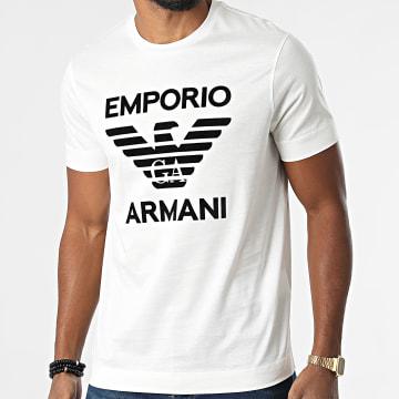Emporio Armani - Tee Shirt 6K1TD0-1JSAZ Beige