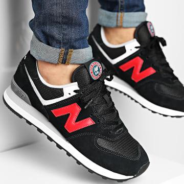 New Balance - Baskets Lifestyle 574 ML574HY2 Black Red
