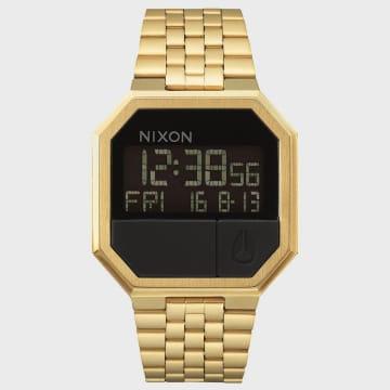 Nixon - Montre Re-Run A158-502 All Gold