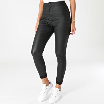 Noisy May - Pantalon Skinny Femme Ella Noir