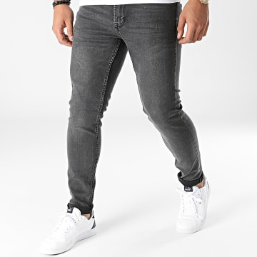 Only And Sons - Jean Skinny Warp Life Noir