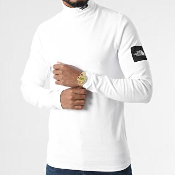 The North Face - Tee Shirt Col Roulé BB A5ICA Blanc