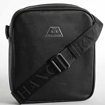 Armani Exchange - Sacoche Zip Top Messenger 952138-CC523 Noir