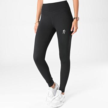 Gym King - Legging Femme Sport Noir