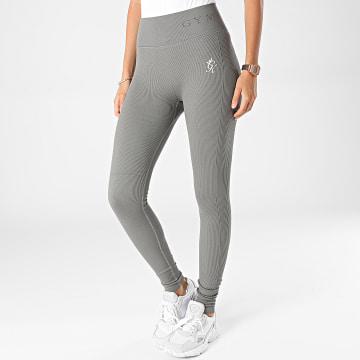 Gym King - Legging Femme Evolve Gris