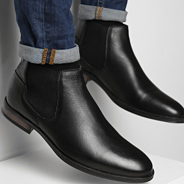 Jack And Jones - Chelsea Boots Frank Anthracite