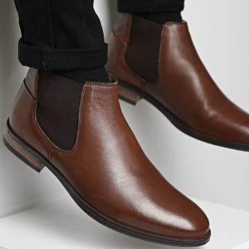 Jack And Jones - Chelsea Boots Frank Cognac