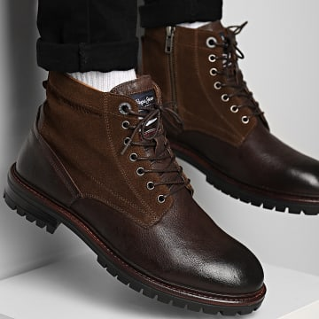 Pepe Jeans - Boots Ned Combo PMS50209 Brown
