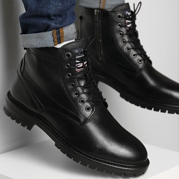 Pepe Jeans - Boots Ned Leather PMS50215 Black