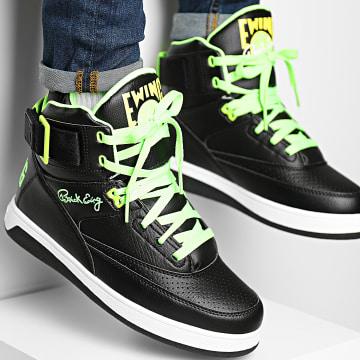 Ewing Athletics - Baskets 33 Hi 1BM01117 Black Green Gecko Lemon Tonic