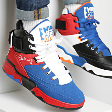 Ewing Athletics - Baskets 33 Hi Core 4 1BM01304 Multi White Black