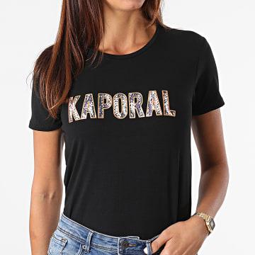 Kaporal - Tee Shirt Femme Derde Noir