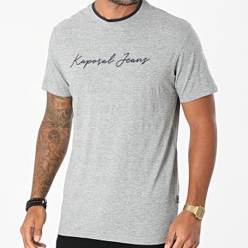 Kaporal - Tee Shirt Leter Gris Chiné