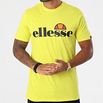 Ellesse - Tee Shirt SHK07405 Jaune Fluo