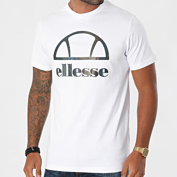 Ellesse - Tee Shirt Réfléchissant Abrano SLF13132 Blanc
