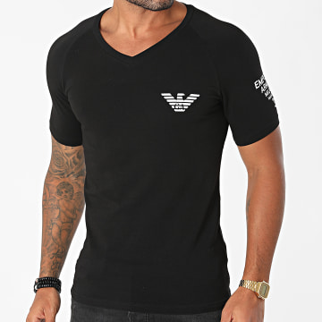Emporio Armani - Tee Shirt Col V 111760-1A725 Noir