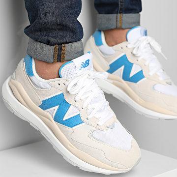 New Balance - Baskets Lifestyle 574 M5740SA1 Beige White