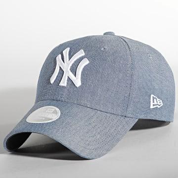 New Era - Casquette Femme 9Forty Chambray New York Yankees Denim