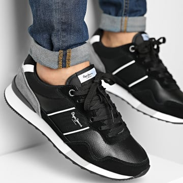 Pepe Jeans - Baskets Cross 4 Court PMS30757 Black