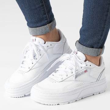 Reebok - Baskets Femme Club C Double Geo GW0223 Footwear White Pure Grey 4