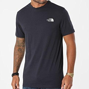 The North Face - Tee Shirt Simple Dome A2TX5 Bleu Marine