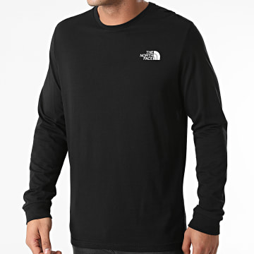 The North Face - Tee Shirt Manches Longues Simple Dome A3L3B Noir