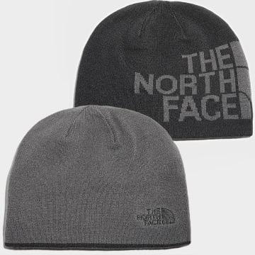 The North Face - Bonnet Réversible TNF Banner Noir