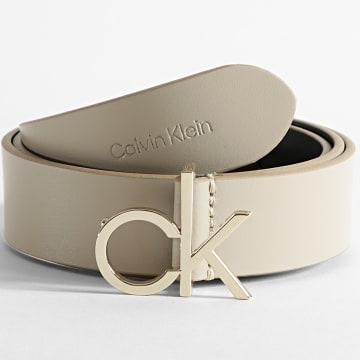 Calvin Klein - Ceinture Femme CK Logo 6716 Taupe
