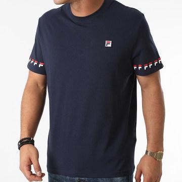 Fila - Tee Shirt Tiburon 689176 Bleu Marine