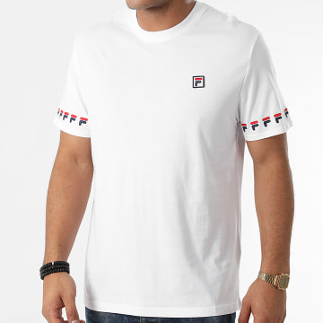 Fila - Tee Shirt Tiburon 689176 Blanc
