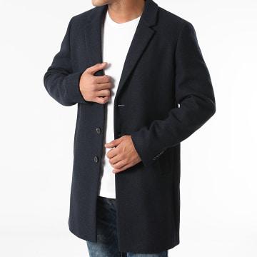 Jack And Jones - Manteau Moulder Wool Bleu Marine
