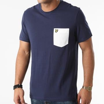 Lyle And Scott - Tee Shirt Poche TS831VOG Bleu Marine