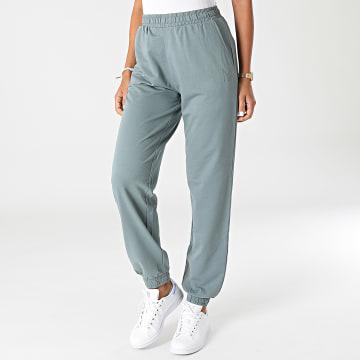 Noisy May - Pantalon Jogging Femme Nine Vert Kaki