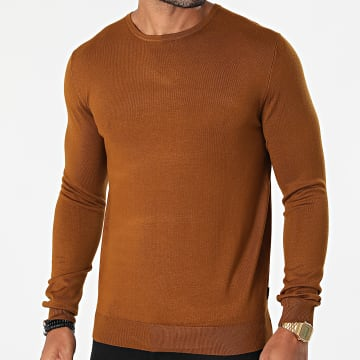 Only And Sons - Pull Wyler Marron