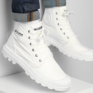 Palladium - Boots Pampa Hi Organic II 77100 Star White