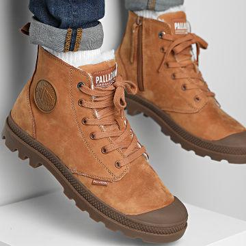 Palladium - Boots Pampa Hi Zip WL 05982 Mahogany