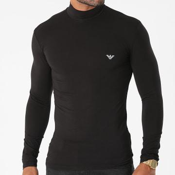Emporio Armani - Tee Shirt Manches Longues 111695-1A511 Noir
