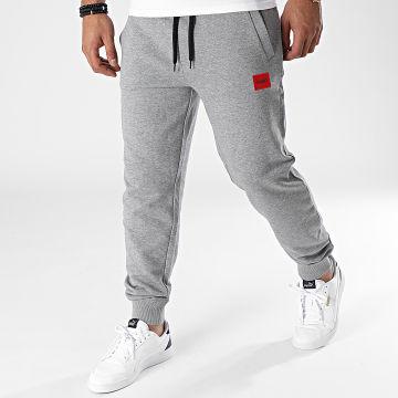 HUGO - Pantalon Jogging 50447963 Gris Chiné