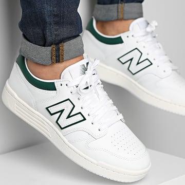 New Balance - Baskets 480 BB480LGT White Green