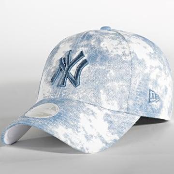 New Era - Casquette Femme 9Forty Denim Colour New York Yankees Bleu