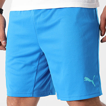 Puma - Short Jogging OM 759718 Bleu Clair