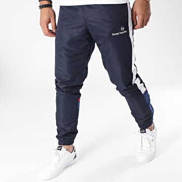 Sergio Tacchini - Pantalon Jogging A Bandes Nelcotan Bleu Marine