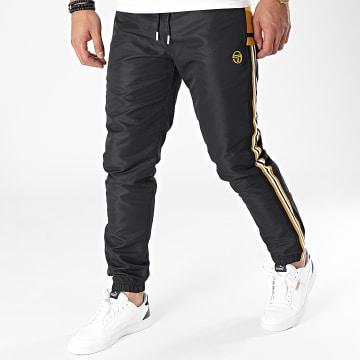Sergio Tacchini - Pantalon Jogging A Bandes Naston Noir