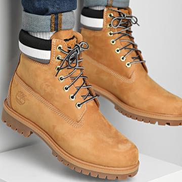 Timberland - Boots Heritage 6 Inch Waterproof A2GYX Wheat Nubuck Black
