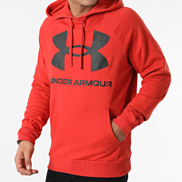 Under Armour - Sweat Capuche 1357093 Rouge
