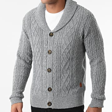 American People - Gilet Meat Gris Chiné