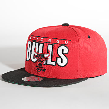 Mitchell and Ness - Casquette Snapback Billboard Classic Chicago Bulls Rouge